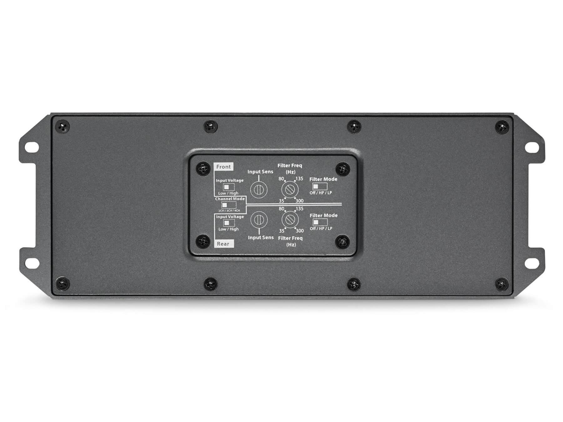 JL Audio MX280/4 - 4 Channel - Class D Amplifier - 3