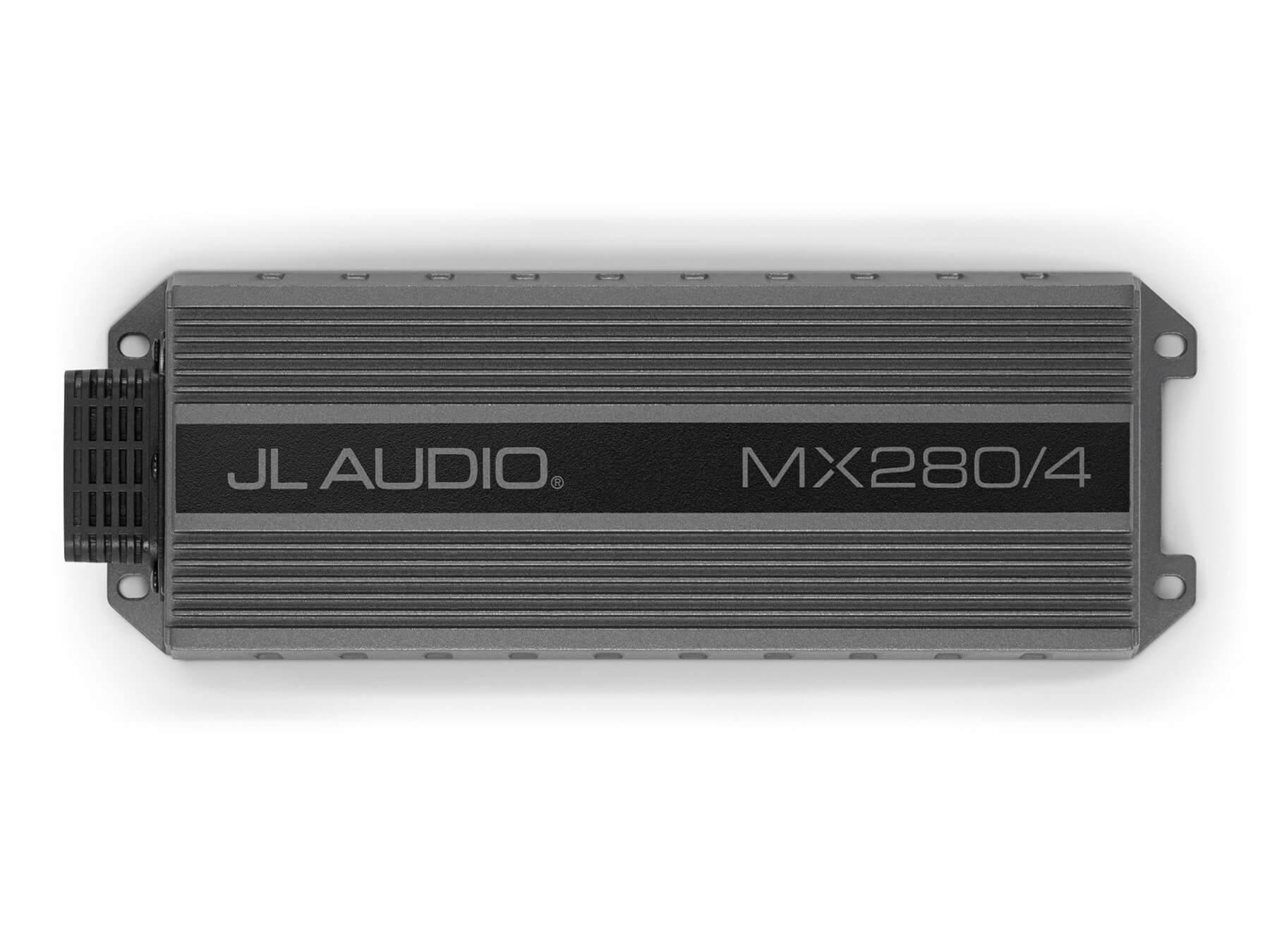JL Audio MX280/4 - 4 Channel - Class D Amplifier