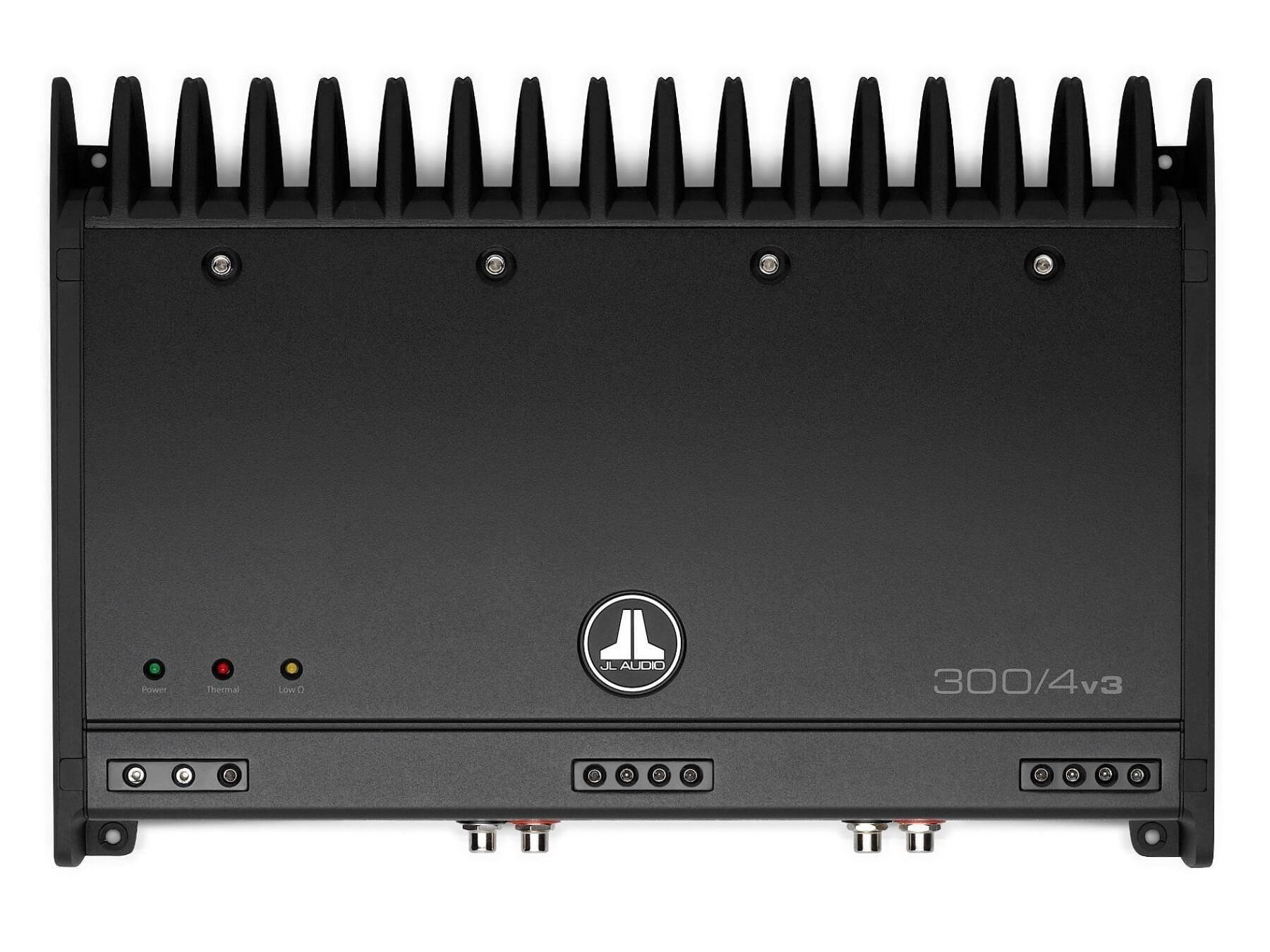JL Audio Slash v3 300/4v3 - 4 Channel Class A/B Amplifier - 2