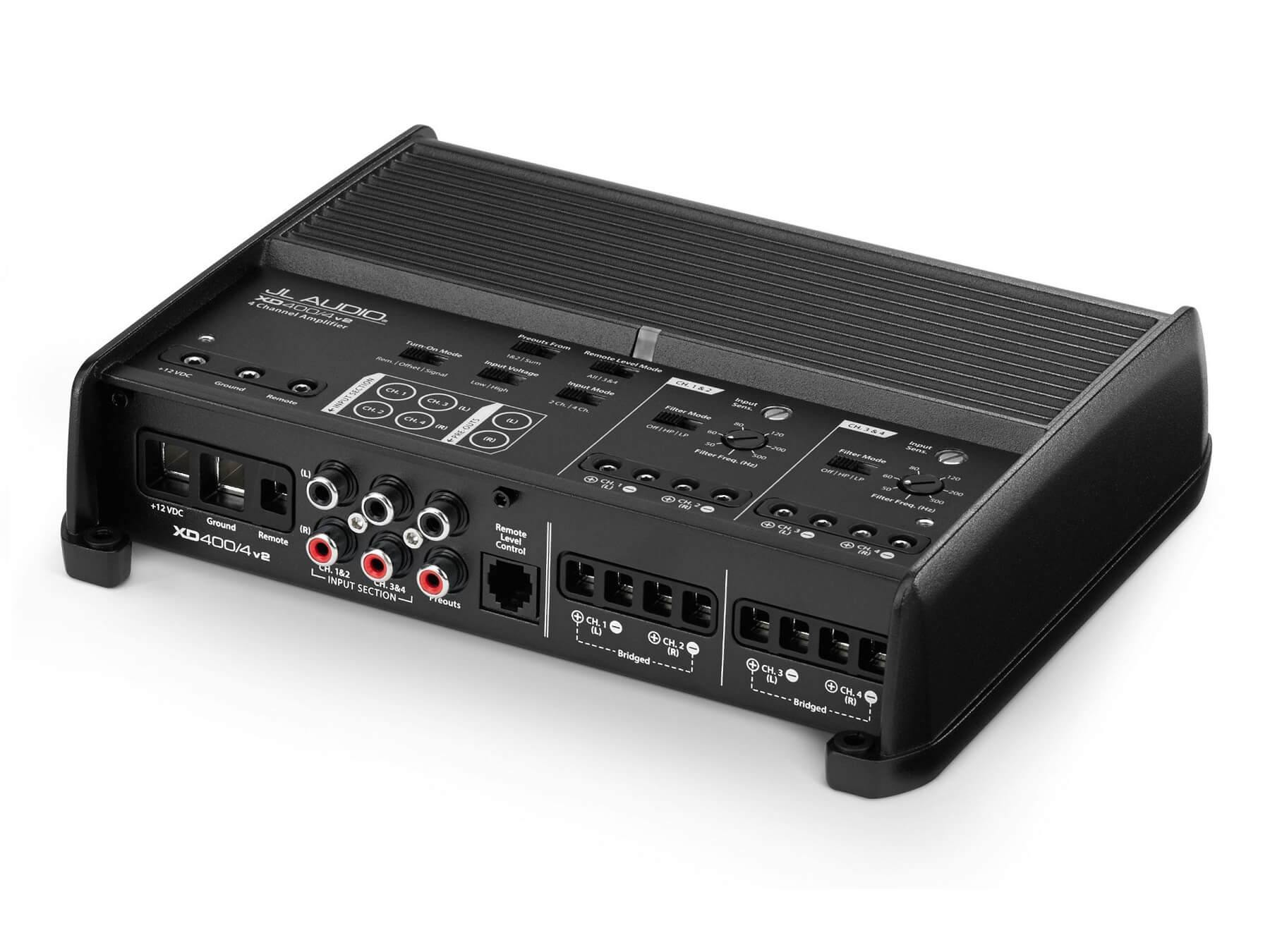 JL Audio XD400/4v2 - 4 Channel Class D Amplifier - 2