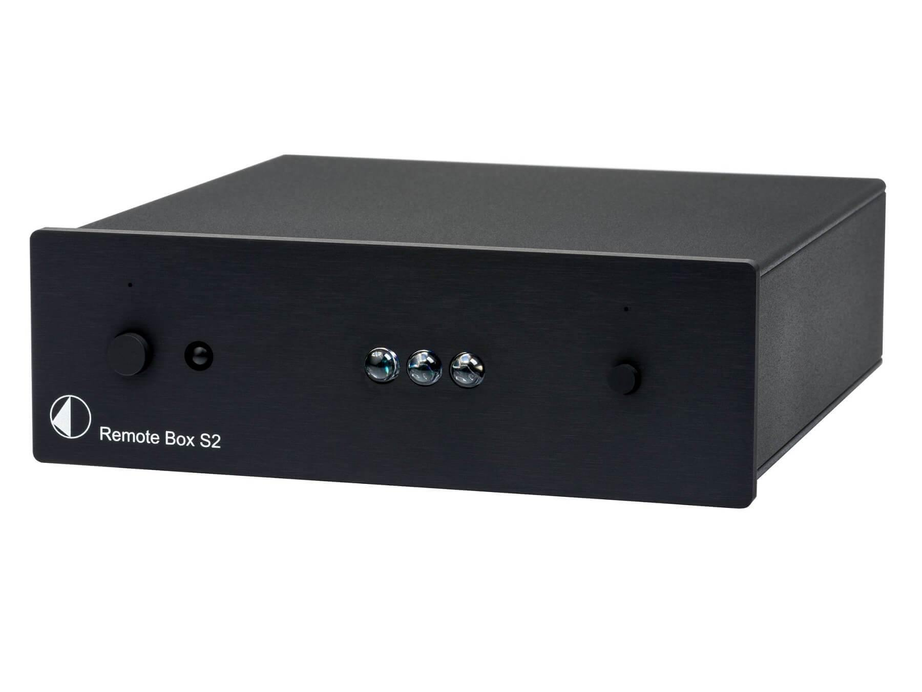 Pro-Ject Remote Box S2 - IR Remote Control - Black