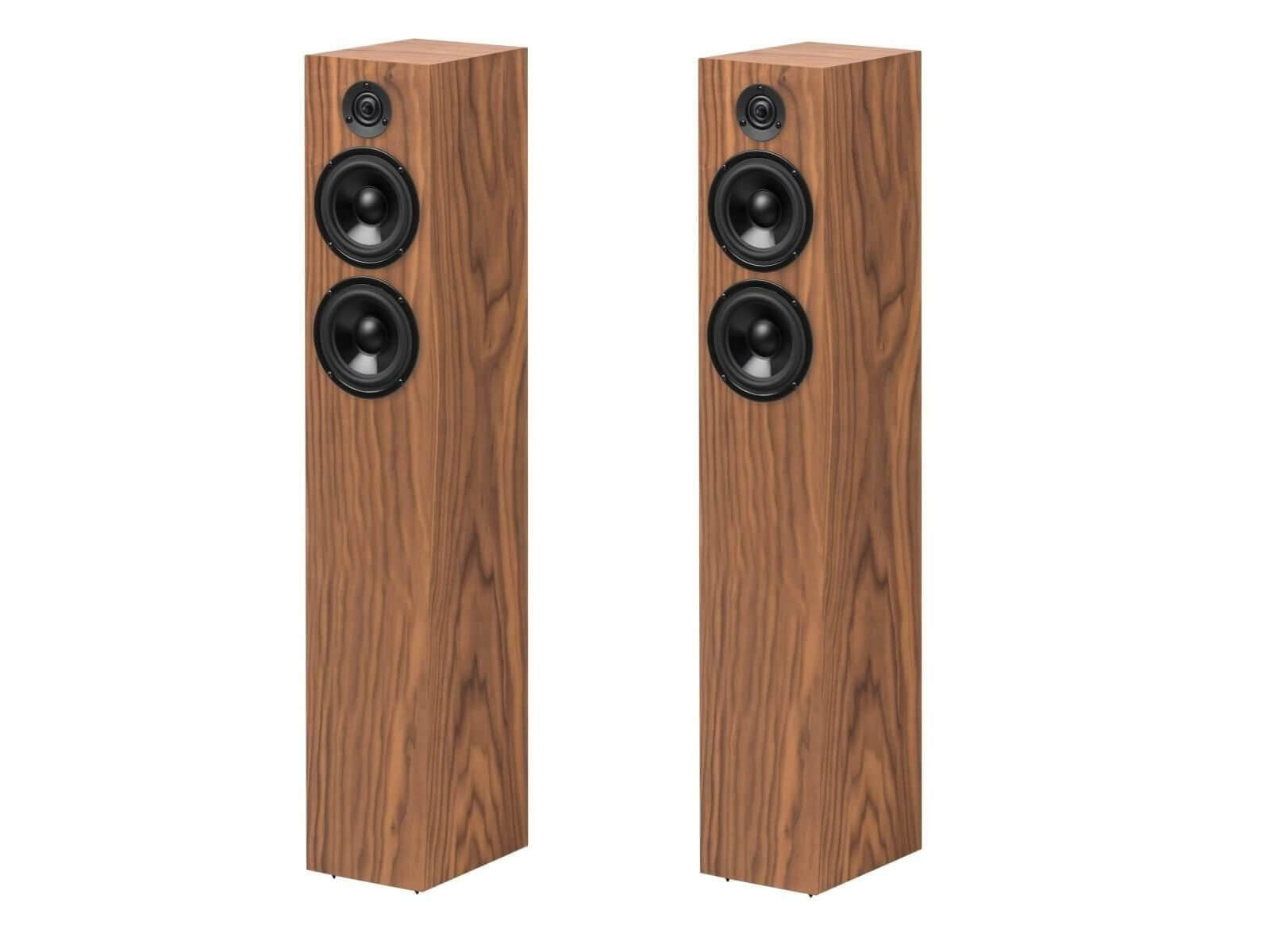 Pro-Ject Speaker Box 10 DS2 - Floorstanding Speakers - Walnut