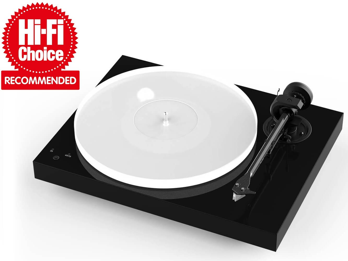 Pro-Ject X1 - Turntable - Black