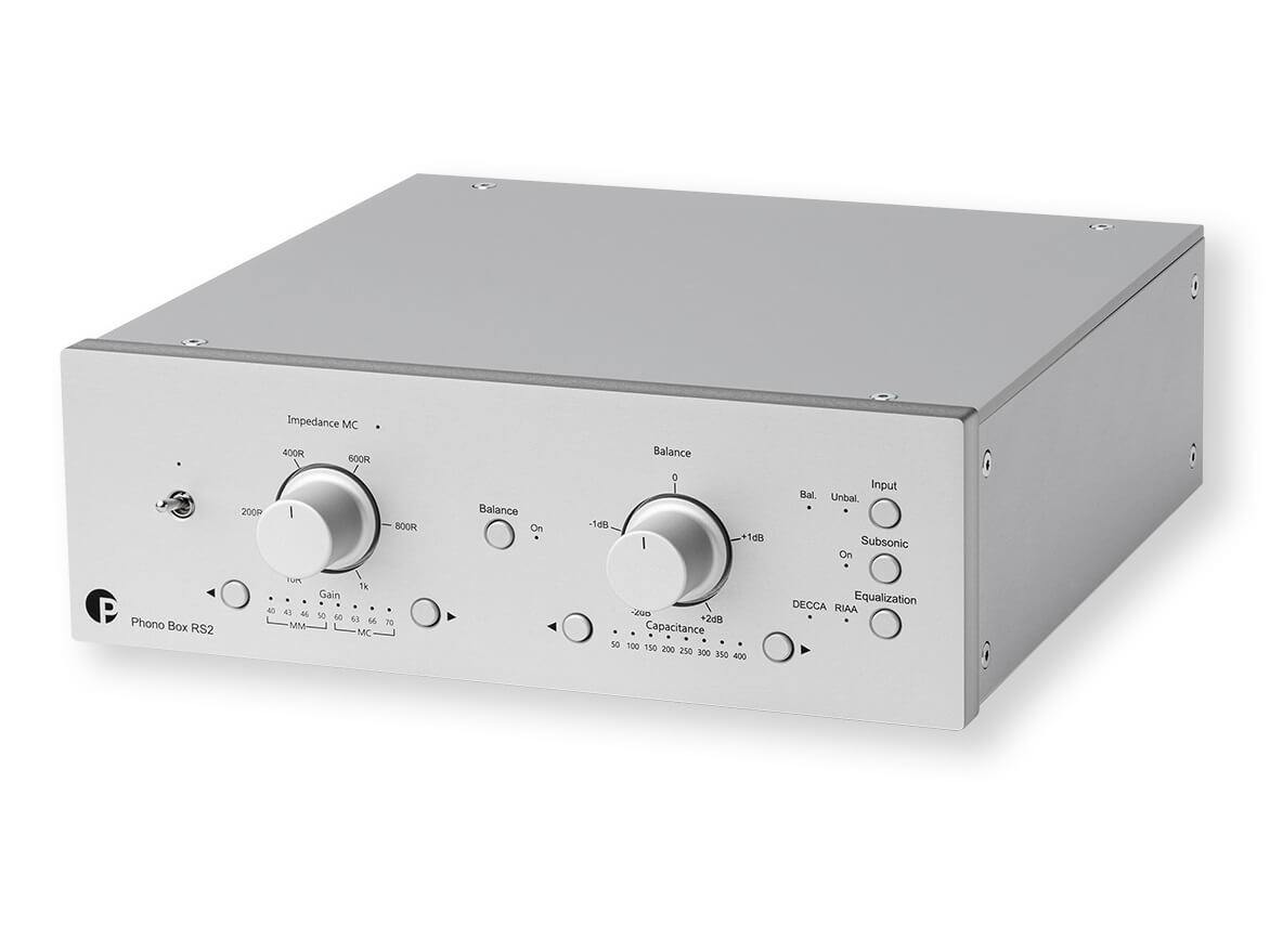 Pro-Ject Phono Box RS2 - Phono Stage - Silver