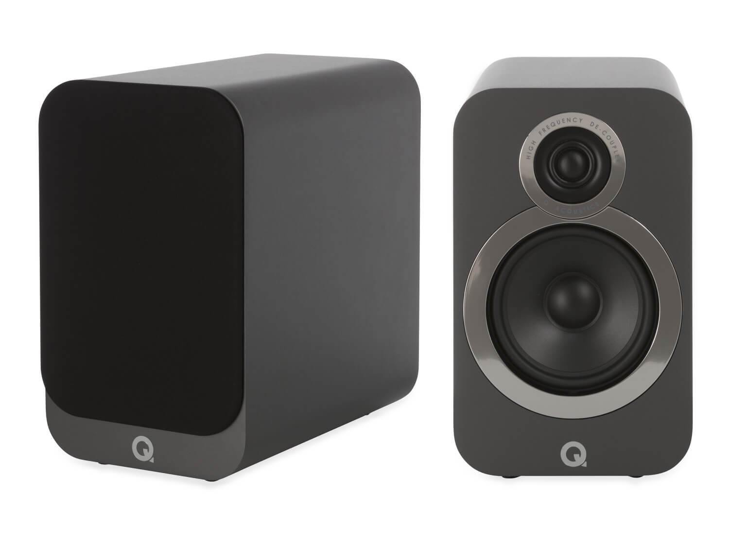 Q Acoustics 3020i - Bookshelf Speakers - Graphite