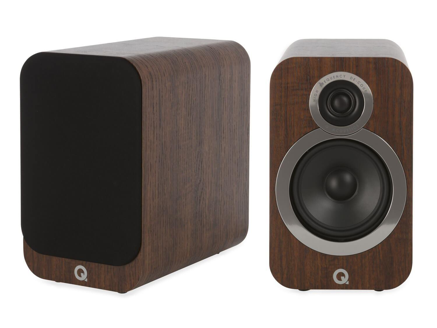 Q Acoustics 3020i - Bookshelf Speakers - Walnut