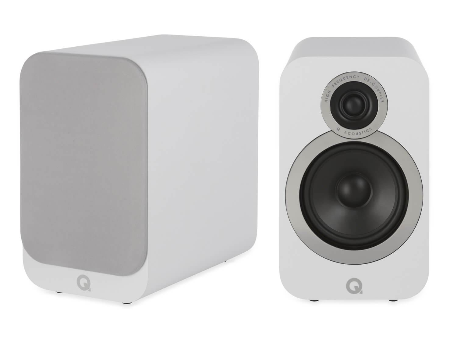 Q Acoustics 3020i - Bookshelf Speakers - White
