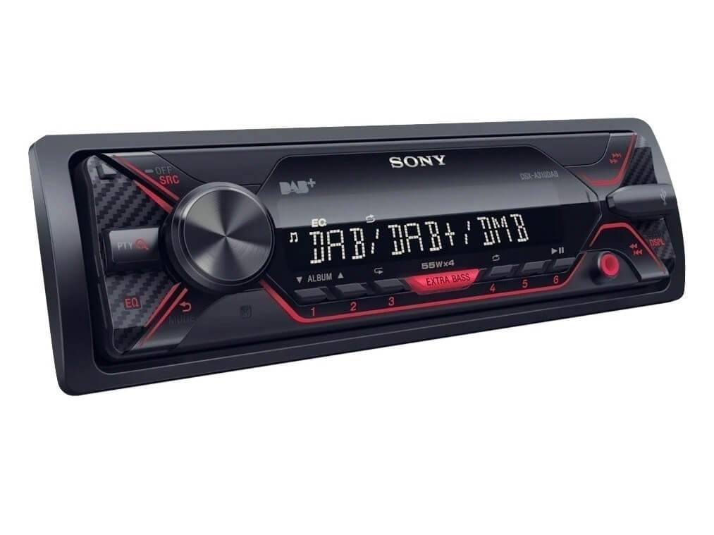 Sony DSX-A310DAB - 1 DIN DAB Media Receiver with USB 2