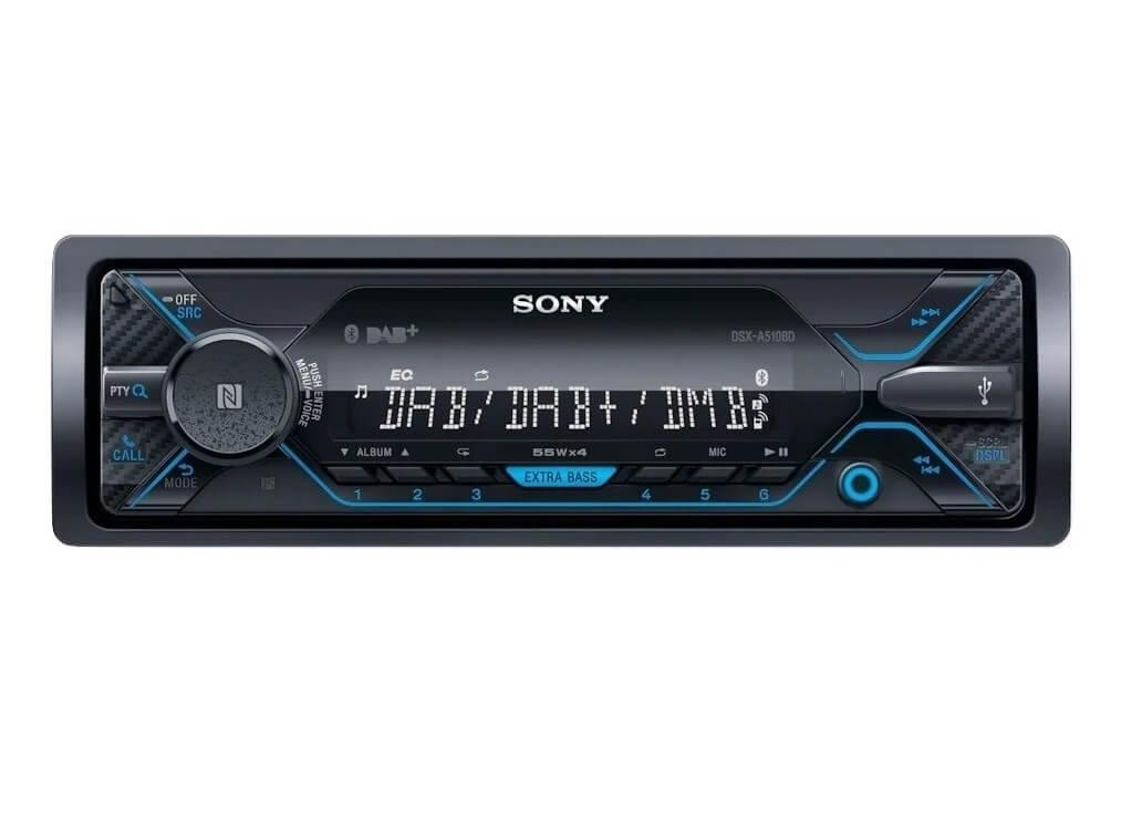 Sony DSX-A510BD - 1 DIN DAB Media Receiver with Bluetooth
