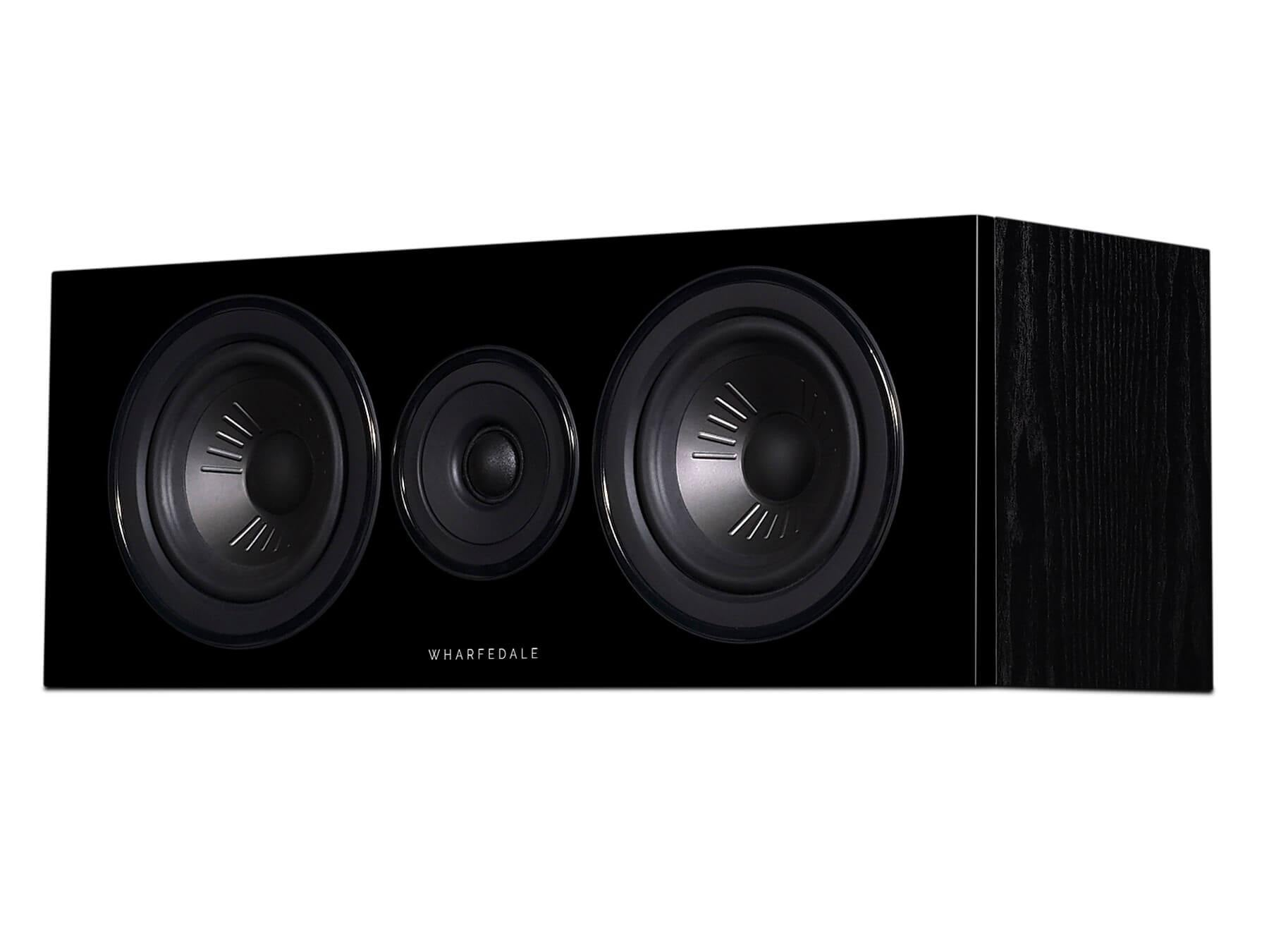 Wharfedale Diamond 12 C - Black - Side