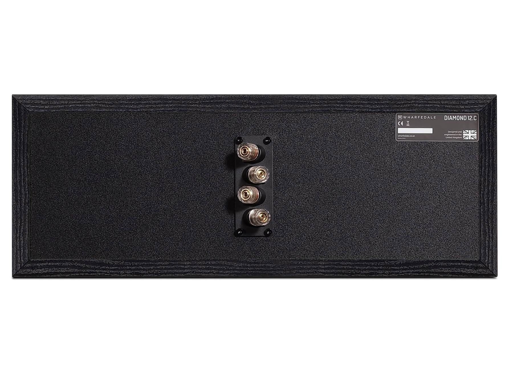 Wharfedale Diamond 12 C - Black - Back