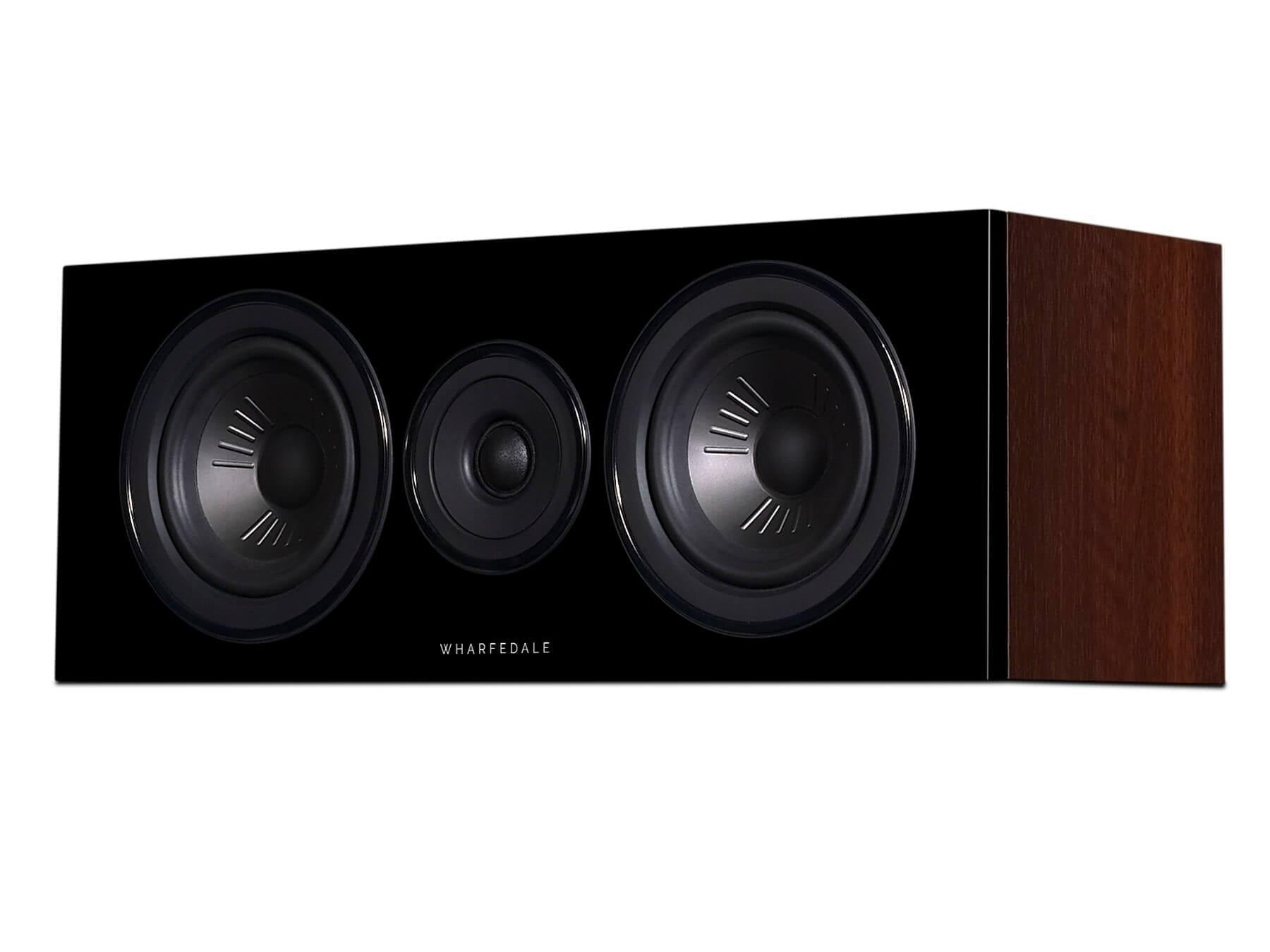 Wharfedale Diamond 12 C - Walnut - Side