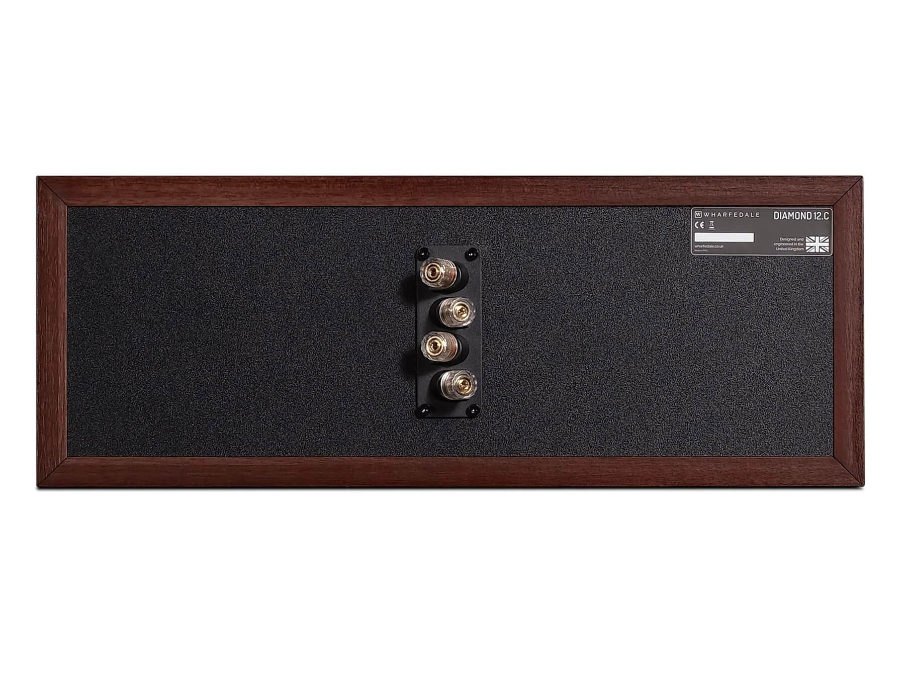 Wharfedale Diamond 12 C - Walnut - Back