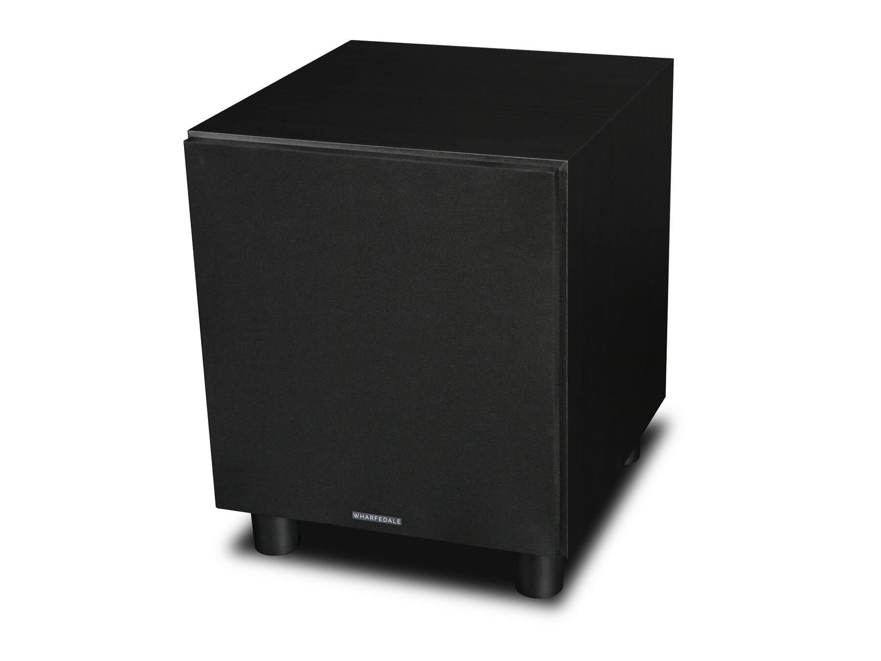 Wharfedale SW-10 - Black - Side