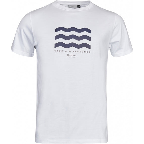North 56.4 GOTS Wave T-Shirt