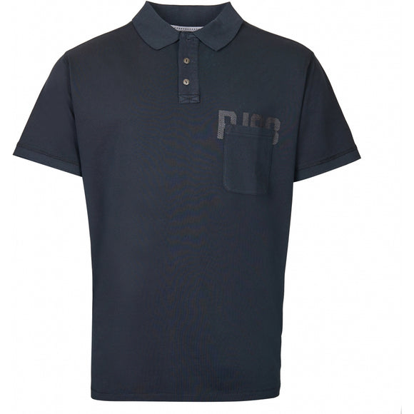 Replika Polo w/chest Print