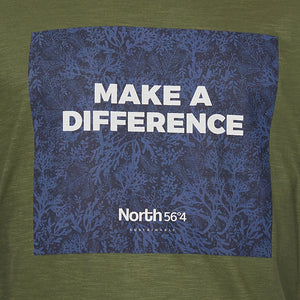 North 56°4 Printed Sustainable Tee Make a Difference