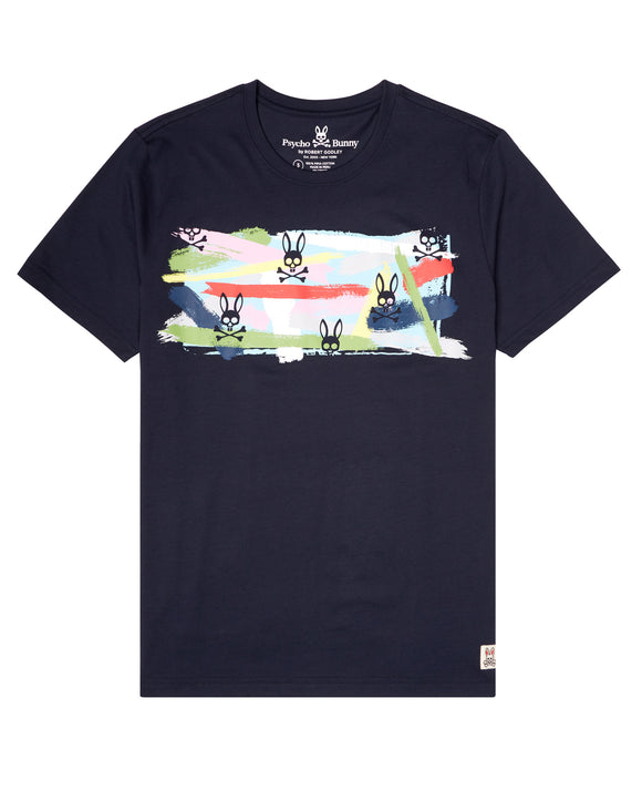 Psycho Bunny Paint Graphic S/S Tee