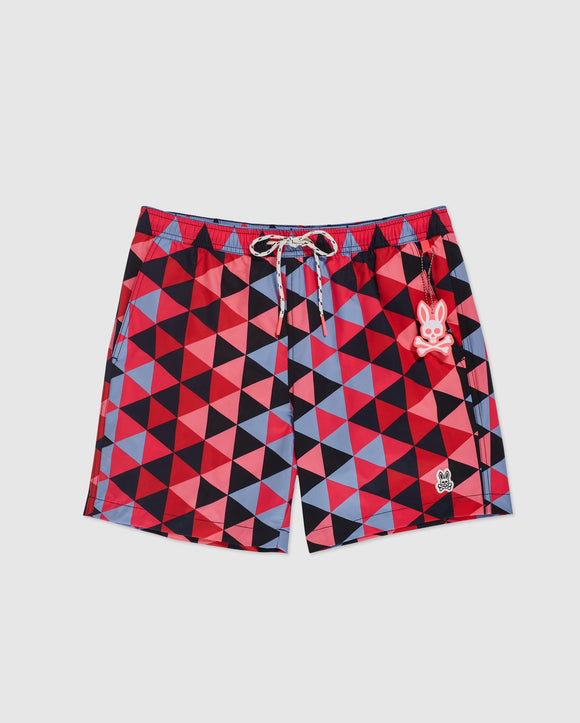 Psycho Bunny Mens Big And Tall Alexander Swim Trunks