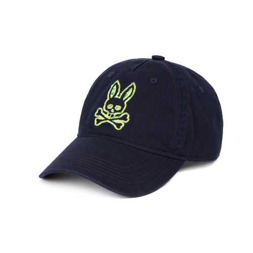 Psycho Bunny Camo Embroidered Baseball Cap
