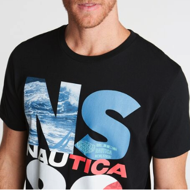 Nautica NS-83 Graphic T-Shirt