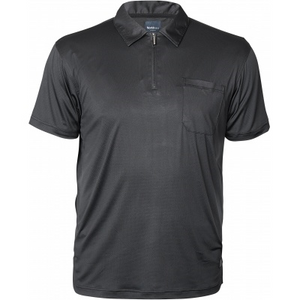 North 56.4 Cool Effect w/Zip S/S Polo