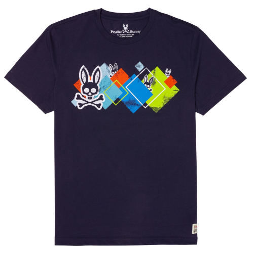 Psycho Bunny Purcell Graphic S/S Tee