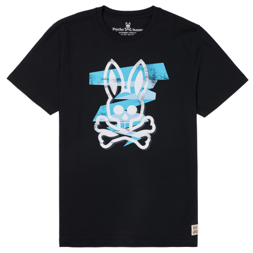 Psycho Bunny Lockyer Graphic S/S Tee