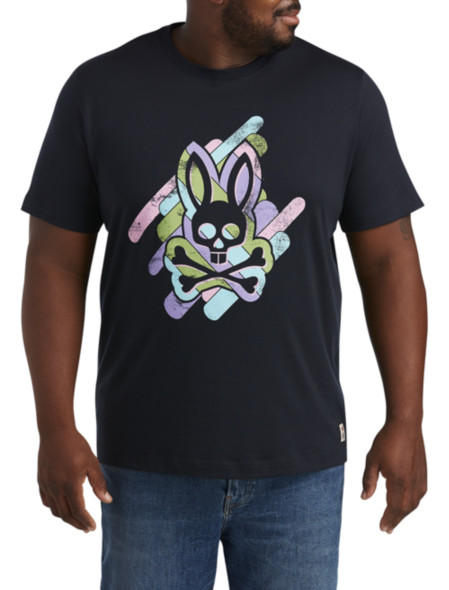 Psycho Bunny Glomach Graphic Tee
