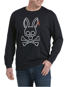 Psycho Bunny  Parkhouse Graphic Long Sleeve Tee