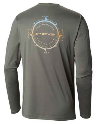 Columbia Terminal Tackle PFG Compass L/S Shirt