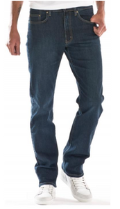 Full Blue 5 Pocket Regular Fit Denim Jeans