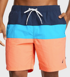 Nautica Color Block Swim Trunk