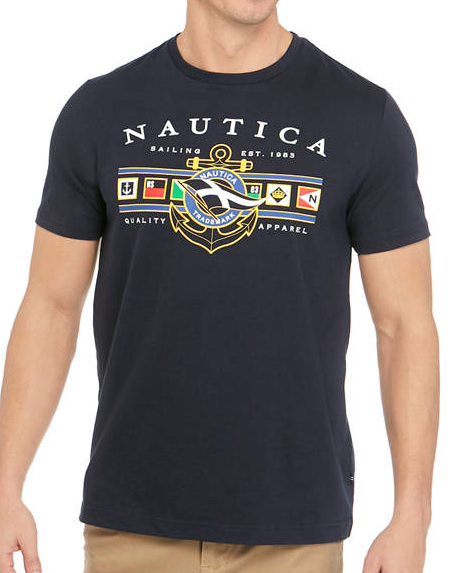 Nautica Flag Graphic T-Shirt