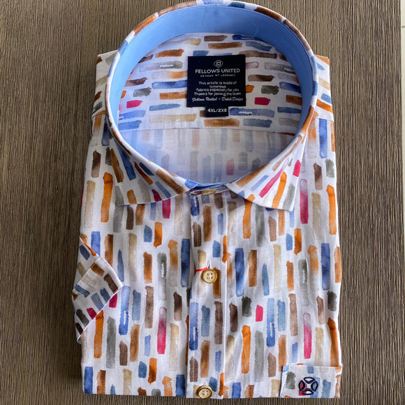 Fellows United Vertical Coloured S/S Shirt
