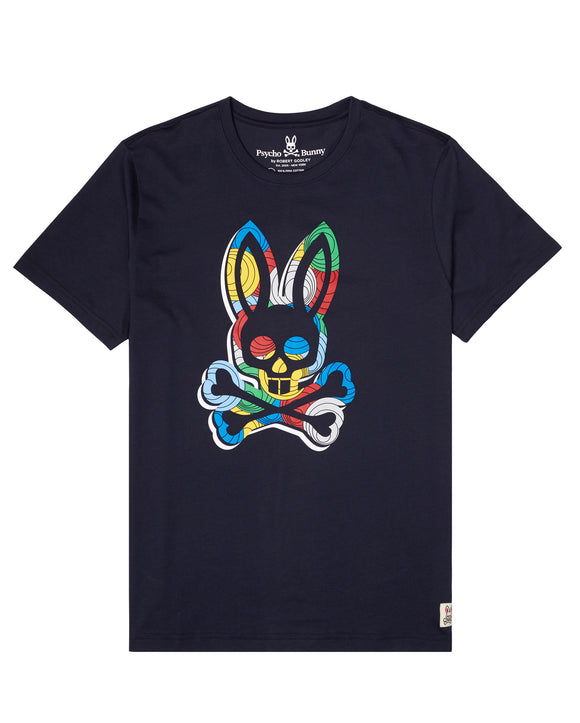 Psycho Bunny Optical Illusion T-Shirt