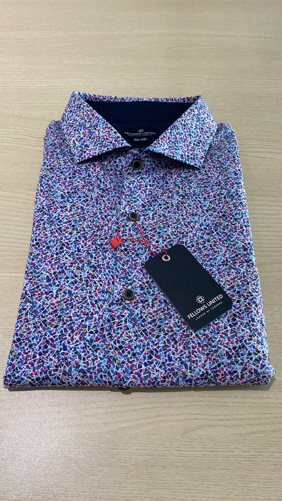 Fellows United Colorous S/S Shirt