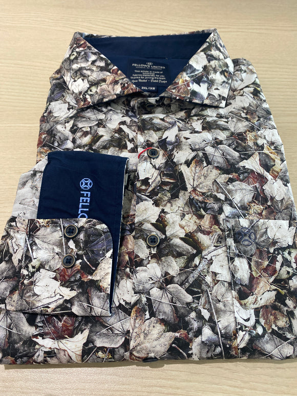 Fellows United Autumn Leaves L/S Shirt