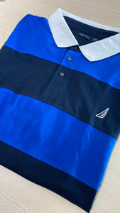 Nautica Rugby Stripe Polo Shirt