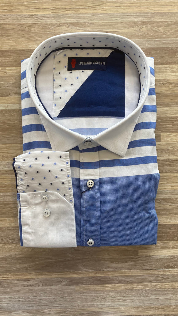 LV TC Stripes LS Shirt