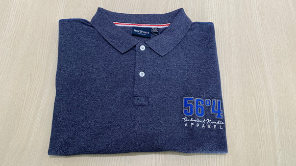 North 56.4 Melange S/S Polo