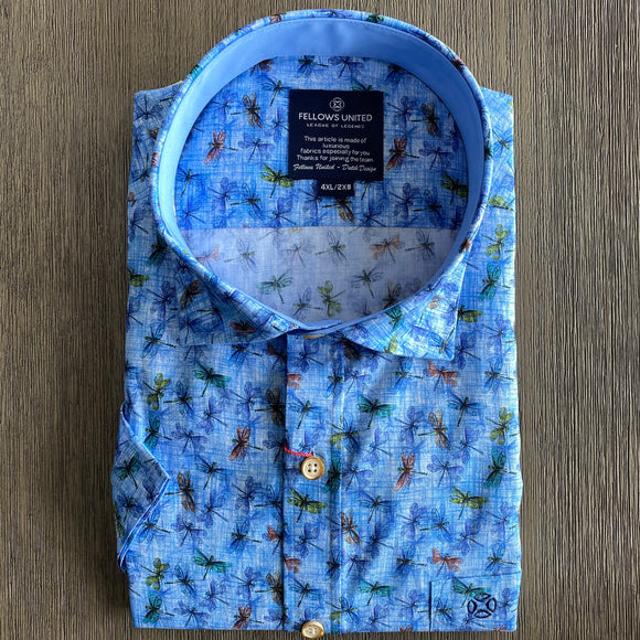 Fellows United Dragonfly Design S/S Shirt