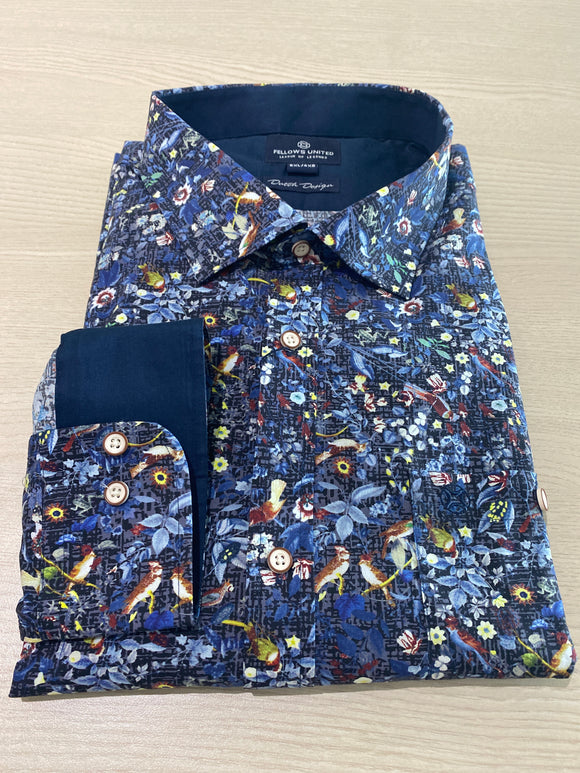 Fellows United Bird Fantasy L/S Shirt