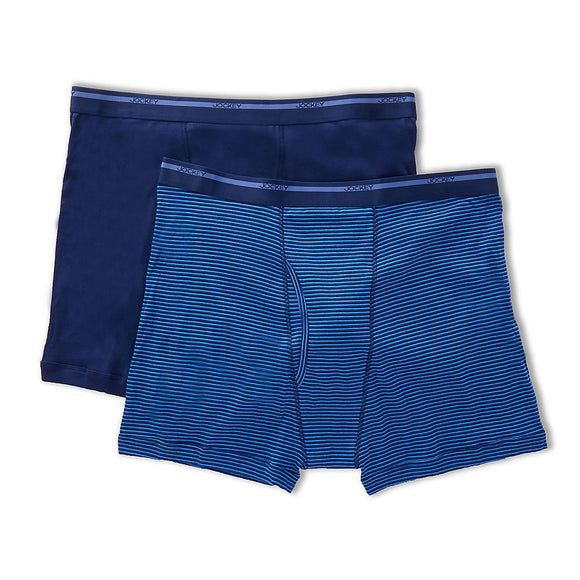 Jockey 2 Pack Full-Rise Boxer Brief