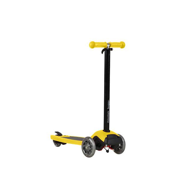 mountain buggy freerider scooter in yellow colour_yellow