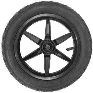 mountain buggy 12 inch complete front wheel_black
