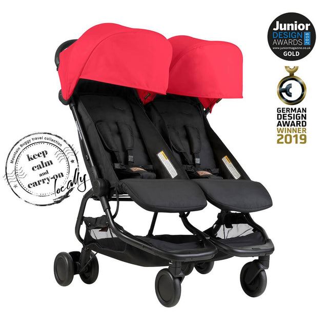 nano duo™ travel system and cocoon™ for twins bundle