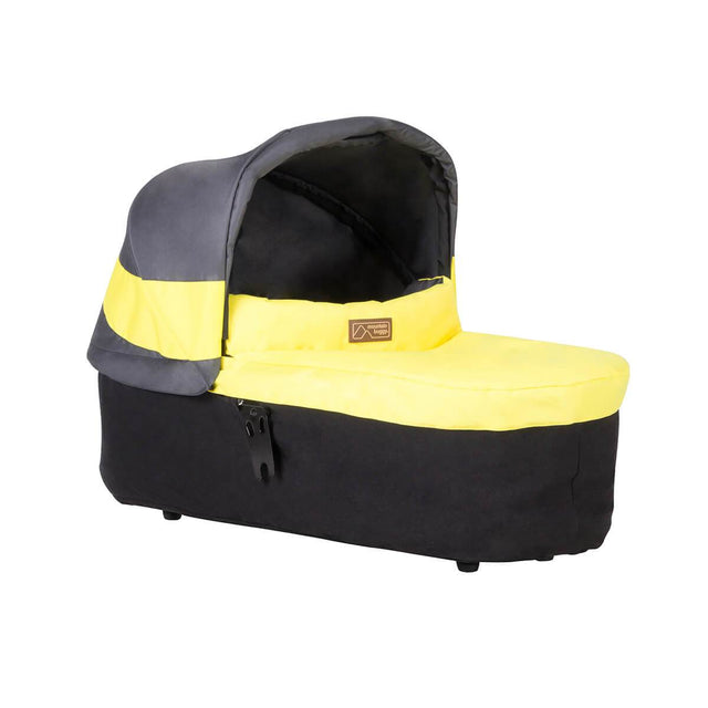 Mountain Buggy carrycot plus front view in colour nautical_solus