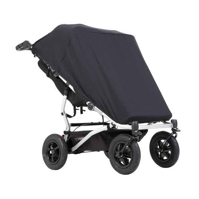 Mountain Buggy duet with double custom fit black out cover_default