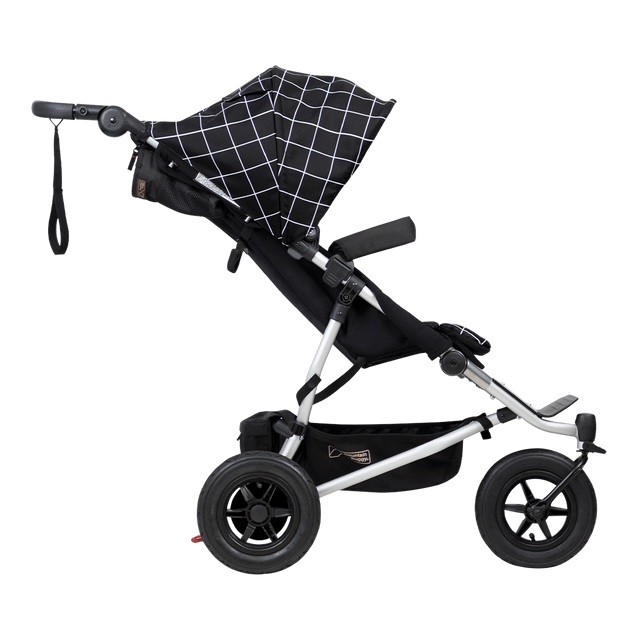 Mountain Buggy duet double buggy side view colour grid_grid